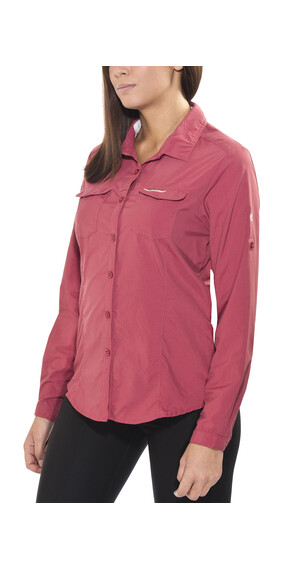 Craghoppers Nosilife Adventure - Chemise manches longues Femme - rose
